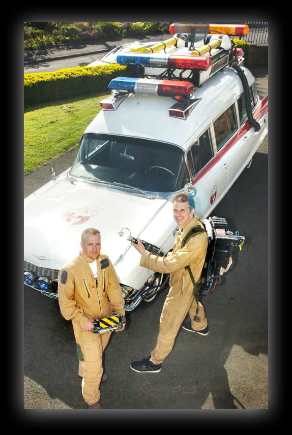 Contect Us for Ecto1 Ghostbusters Car Hire