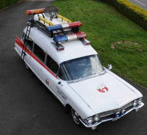 Ghostbusters-Car-Ecto1-for-hire